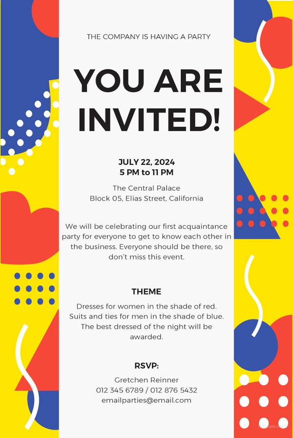 Potluck Invitation Template Free Printable Best Of 10 Potluck Email Invitation Templates Psd Ai
