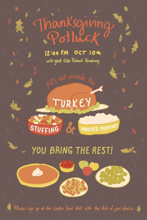 Potluck Invitation Template Free Printable Fresh 6 Best Of Thanksgiving Potluck Invitation Email