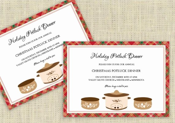 Potluck Invitation Template Free Printable Fresh Holiday Potluck Invitation Template Download by
