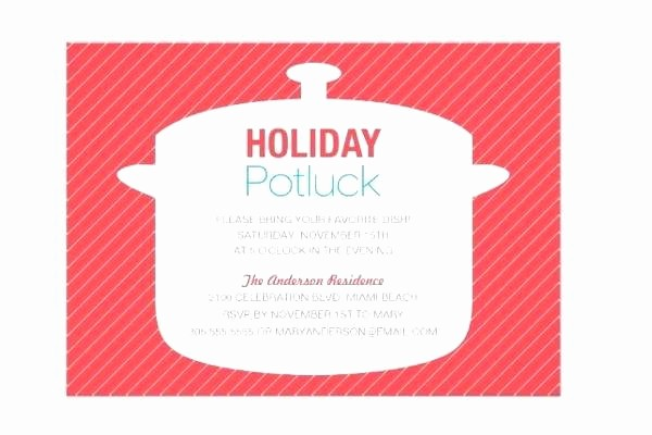 Potluck Invitation Template Free Printable Luxury Good Potluck Invitation Template Free Printable and Party