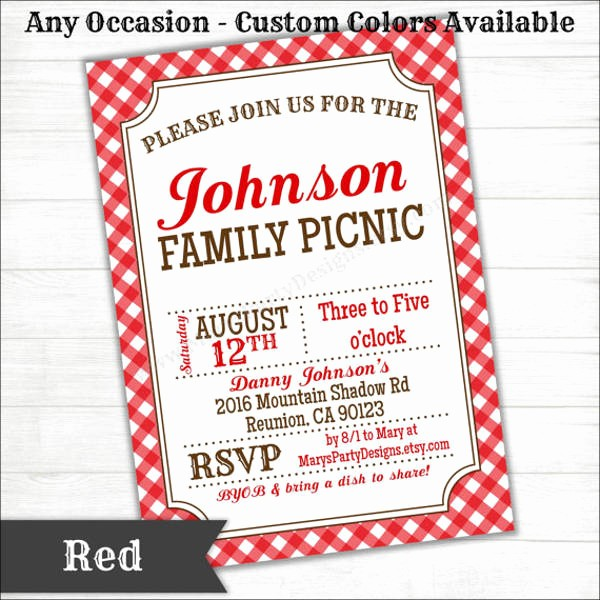 Potluck Invitation Template Free Printable New 9 Potluck Party Invitation Designs & Templates Psd Ai