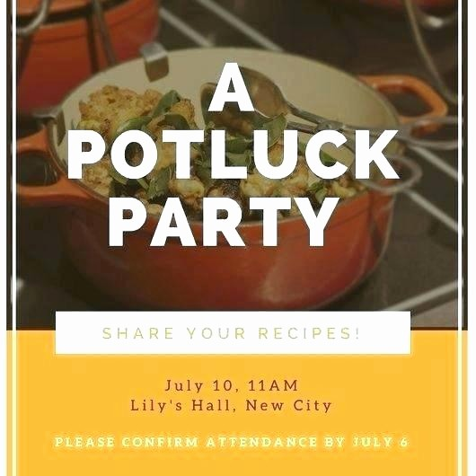 Potluck Invitation Template Free Printable New Template Potluck Flyer Templates Invitation Free Word