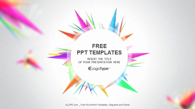 Powerpoint Presentation Design Free Download Luxury Abstract Triangle Ppt Templates