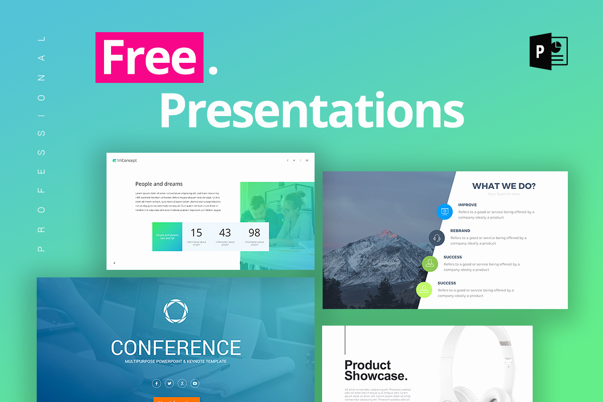 Powerpoint Presentation Slides Free Download Awesome 25 Free Professional Ppt Templates for Project Presentations