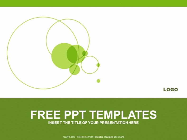 Powerpoint Presentation Slides Free Download Awesome Green Circle Powerpoint Templates Design Download Free