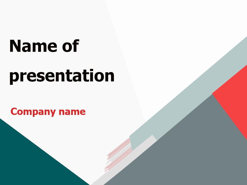 Powerpoint Presentation Slides Free Download Best Of Download Free Triangular World Powerpoint Template for