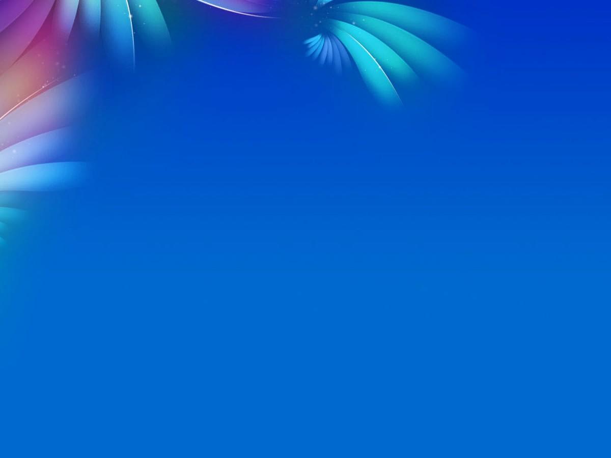 Powerpoint Presentation Slides Free Download New Blue Flowers Pattern Backgrounds Presnetation Ppt