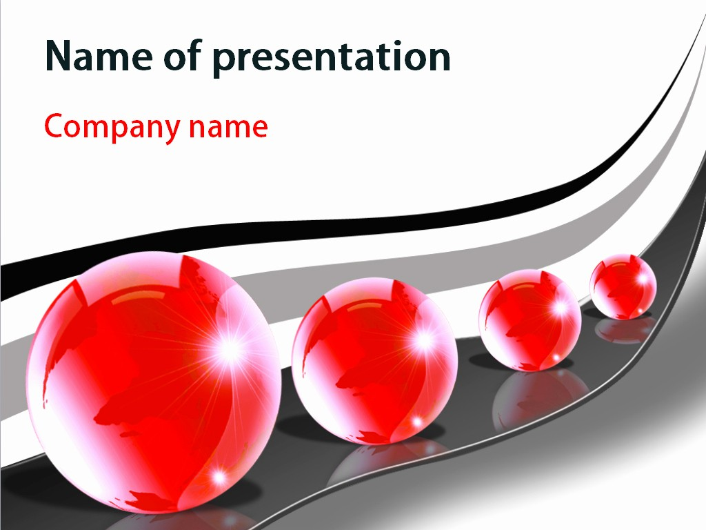 Powerpoint Presentation Slides Free Download New Download Free Big Balls Powerpoint Template for Presentation