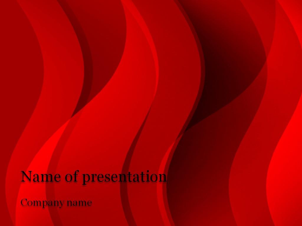 Powerpoint Presentation Slides Free Download New Download Free Red Stream Powerpoint Template for