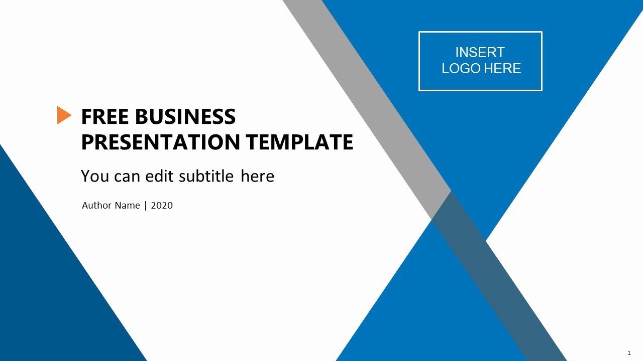 Powerpoint Slide Templates for Business Awesome Free Business Presentation Template Slidemodel