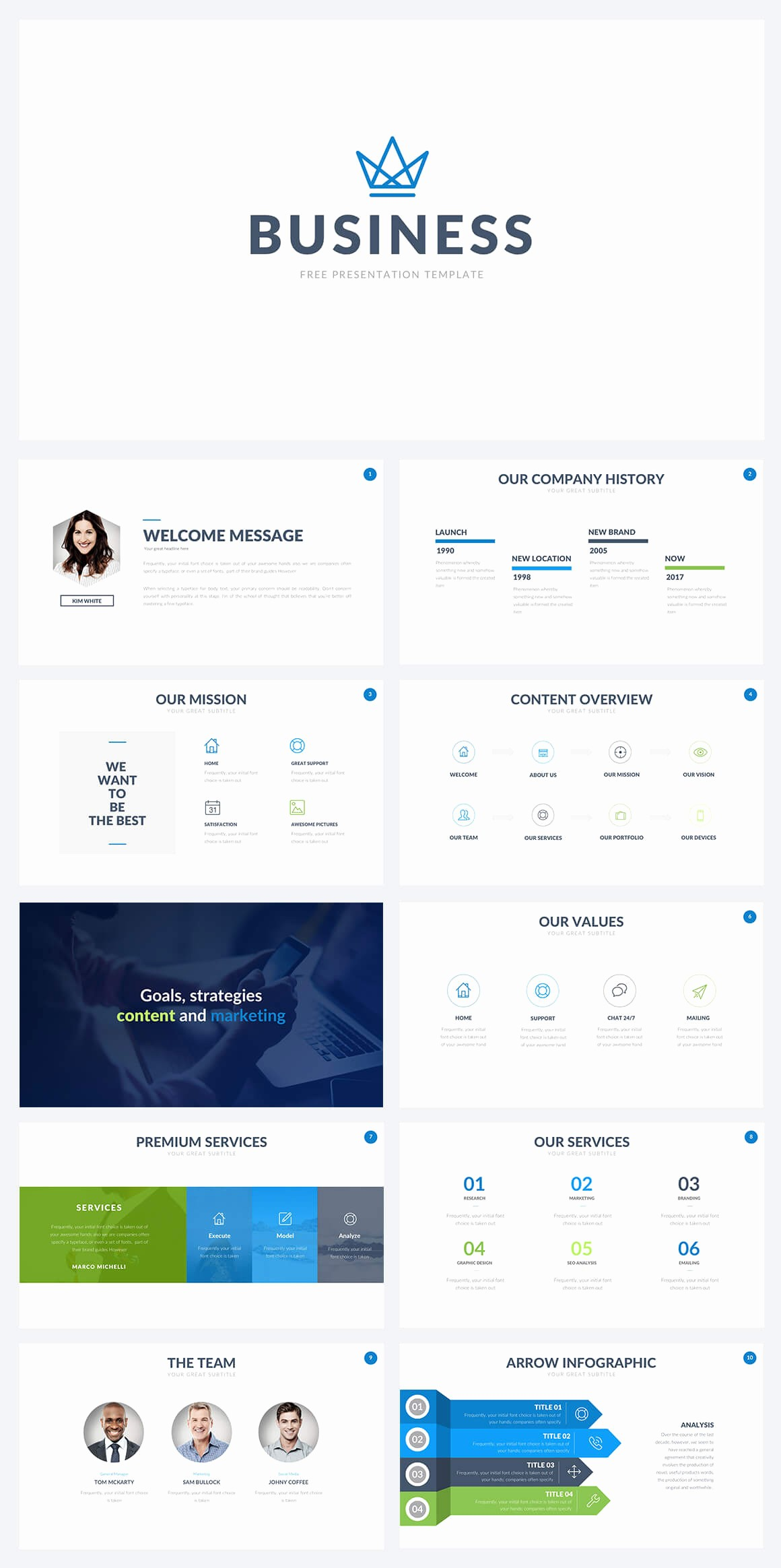 Powerpoint Slide Templates for Business Best Of 50 Best Free Cool Powerpoint Templates Of 2018 Updated