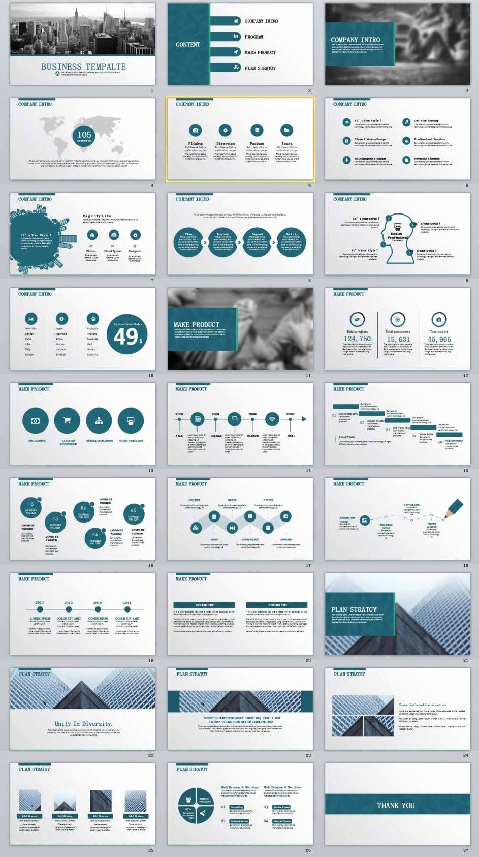 Powerpoint Slide Templates for Business Fresh 27 Business Report Professional Powerpoint Templates