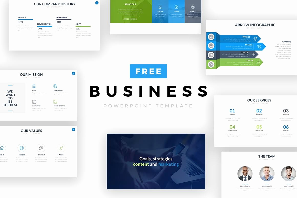 Powerpoint Slide Templates for Business Inspirational Free Business Powerpoint Template — Free Design Resources