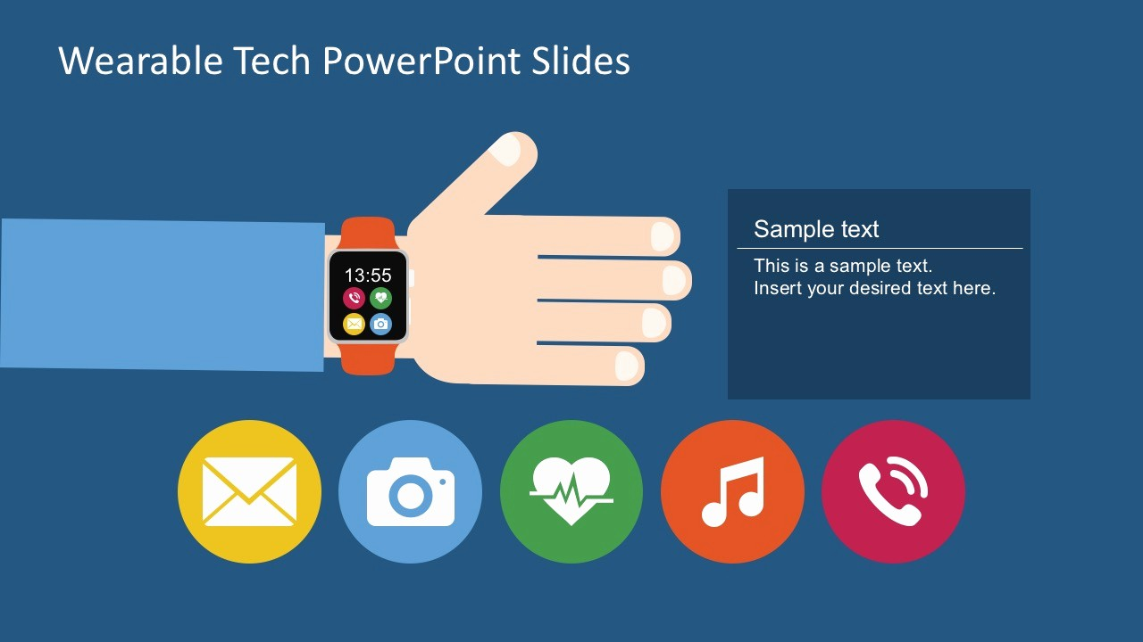 Powerpoint Slide Templates Free Download Elegant Free Wearable Technology Powerpoint Slide