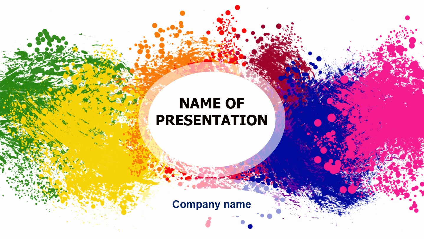 Powerpoint Slide Templates Free Download Fresh Download Free Happy Colors Powerpoint Template for