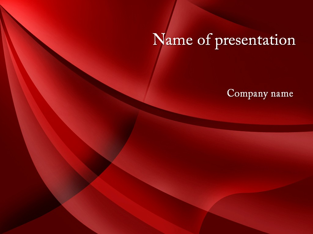 Powerpoint Slide Templates Free Download Fresh Download Free Red Shades Powerpoint Template for Your