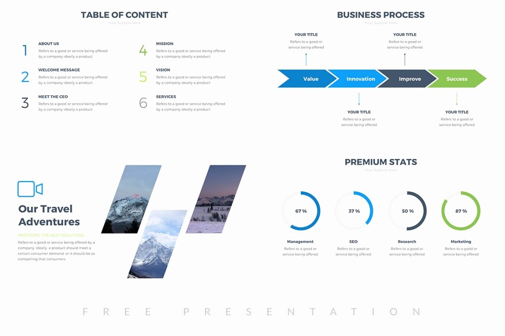 Ppt Template for Business Presentation Fresh 25 Free Professional Ppt Templates for Project Presentations