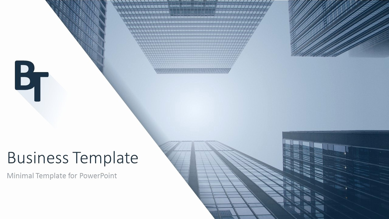 Ppt Template for Business Presentation Lovely Minimalist Business Powerpoint Template