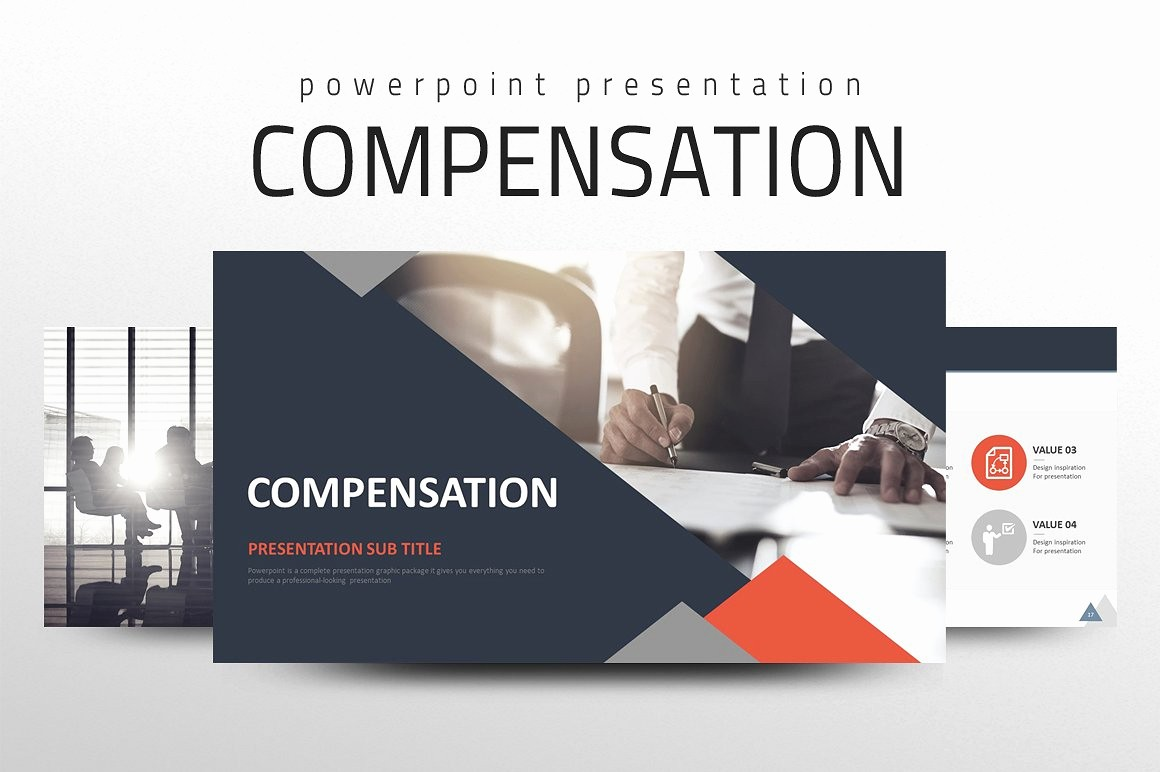 Ppt Template for Business Presentation Lovely Pensation Ppt Powerpoint Templates Creative Market