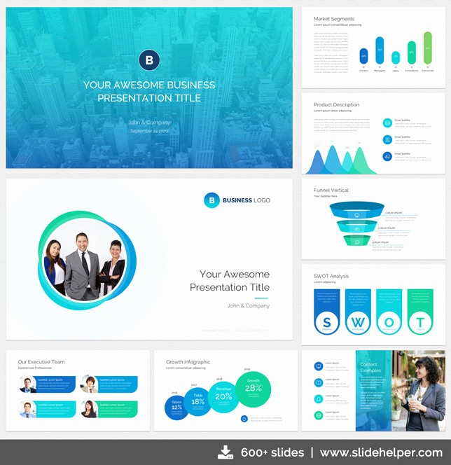 Ppt Template for Business Presentation New Classy Business Presentation Template with Clean & Elegant