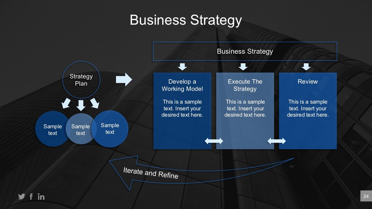 Ppt Template for Business Presentation Unique Executive Strategic Planning Powerpoint Presentation