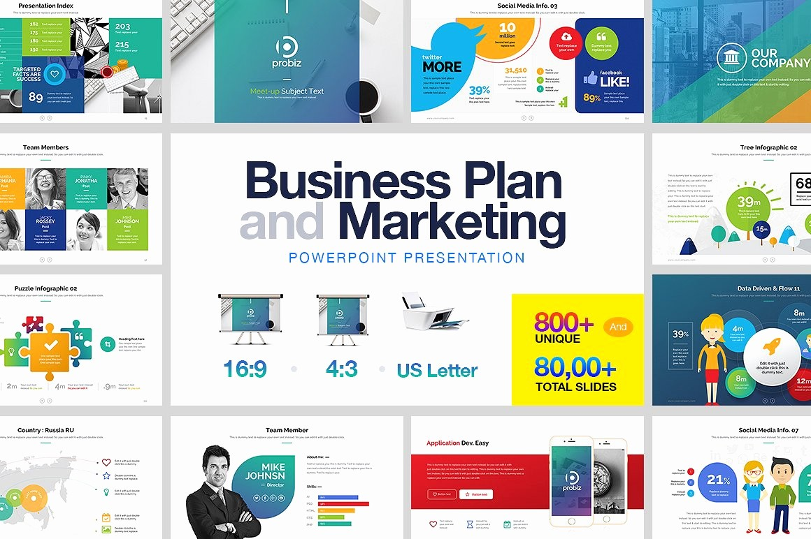 Ppt Templates for Business Presentation Best Of Business Plan & Marketing Powerpoint Presentation
