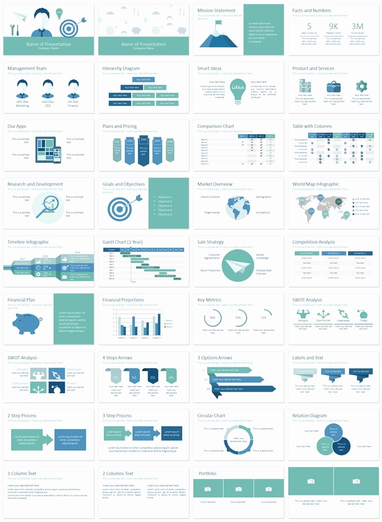Ppt Templates for Business Presentation Best Of Business Plan Powerpoint Template Presentationdeck