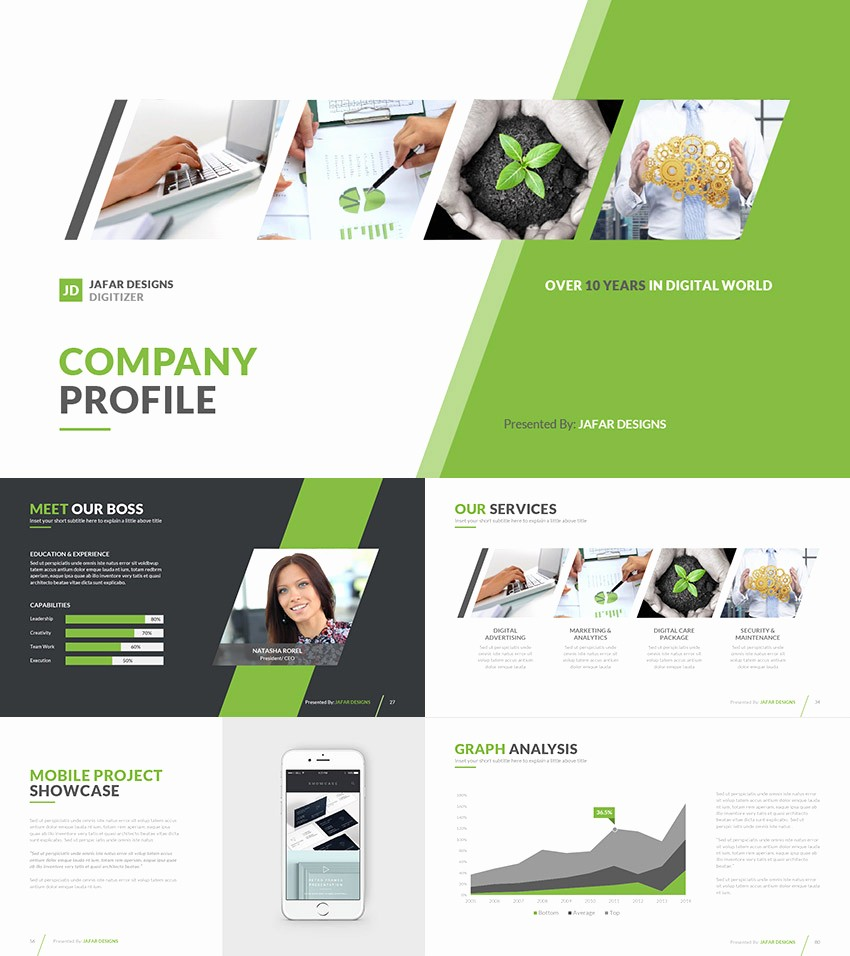 Ppt Templates for Business Presentation Elegant 21 Pany Profile Templates