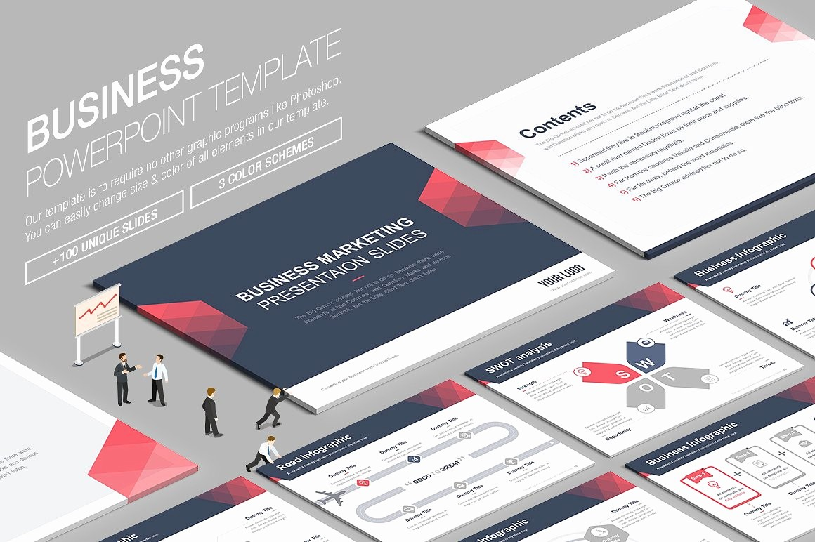 Ppt Templates for Business Presentation Fresh Business Powerpoint Template Vol 7 Presentation