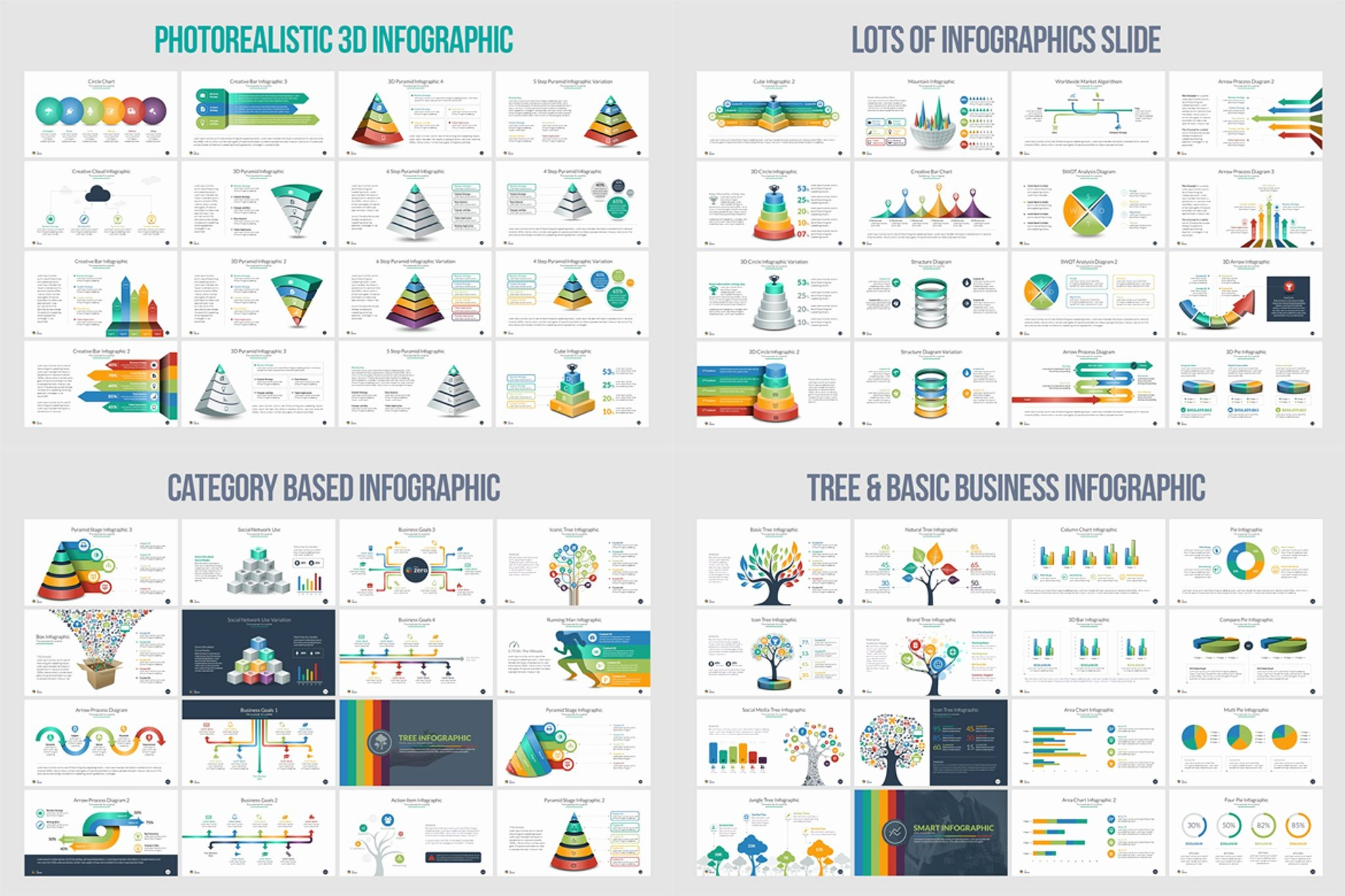 Ppt Templates for Business Presentation Inspirational Business Infographic Presentation Powerpoint Template