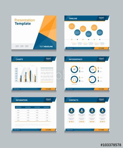 Ppt Templates for Business Presentation Unique Business Presentation Template Set Powerpoint Template