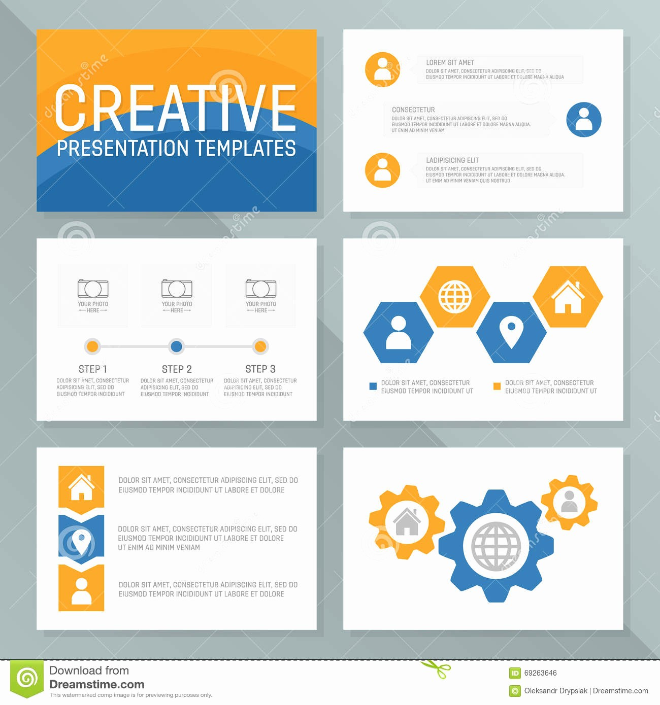 Ppt Templates for Business Presentation Unique Vector Business Presentation Template Slides Background