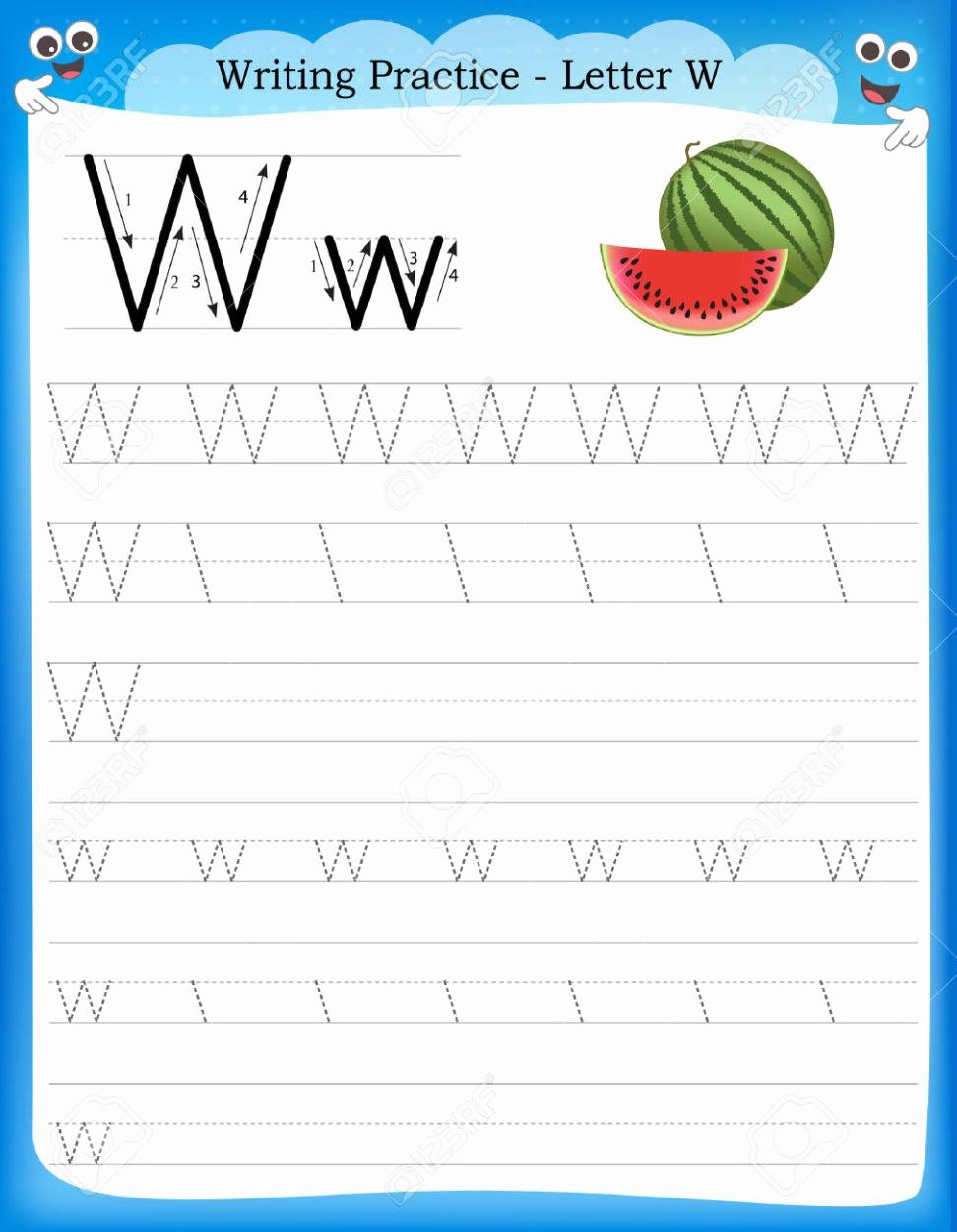 Practice Writing Paper for Kindergarten Best Of Homework for Kids Worksheets Chapter 2 Worksheet Mogenk