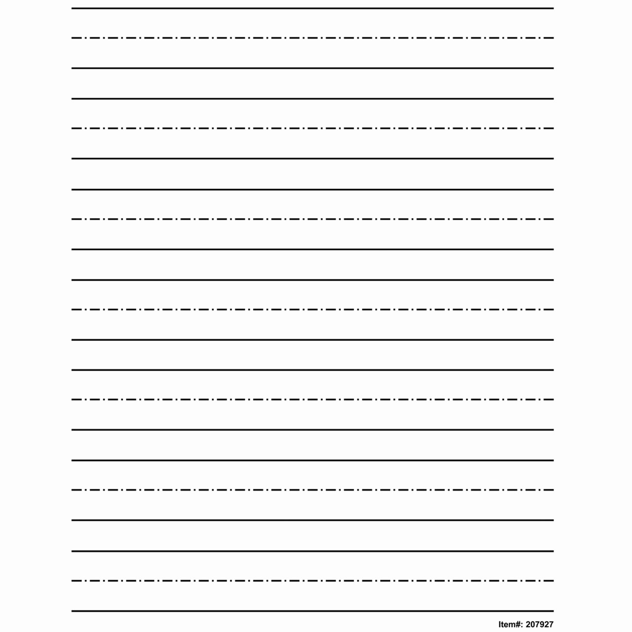 Practice Writing Paper for Kindergarten Lovely Maxiaids