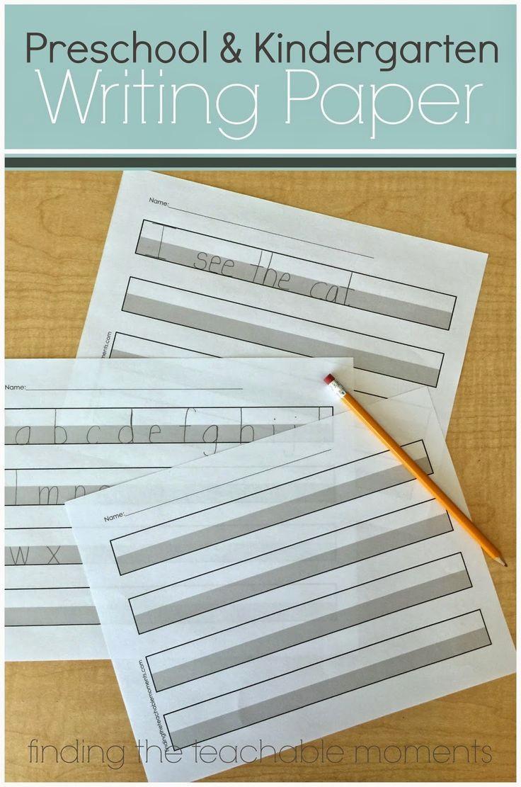 Practice Writing Paper for Kindergarten New 25 Best Ideas About Kindergarten Handwriting On Pinterest