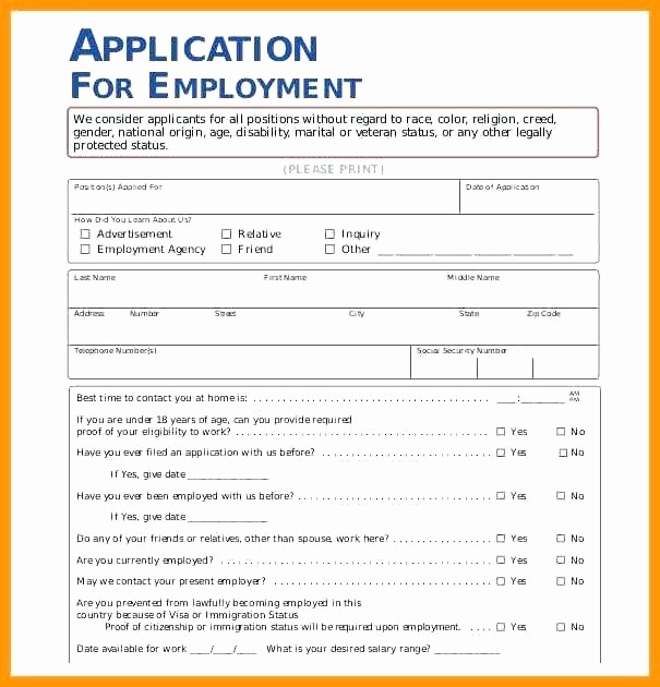 Pre Employment Physical form Template New Employment Medical form Template Authorization Pre
