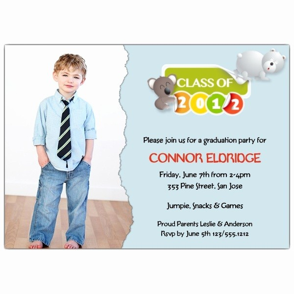 Pre K Graduation Invitations Templates Beautiful 80 Best Images About Preschool Graduation On Pinterest