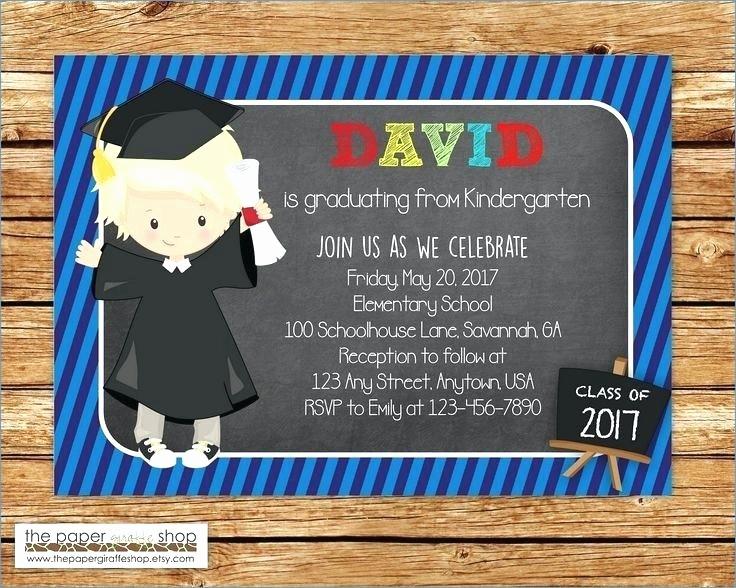 Pre K Graduation Invitations Templates Fresh 91 Pre K Graduation Cards Cute Preschool Graduation