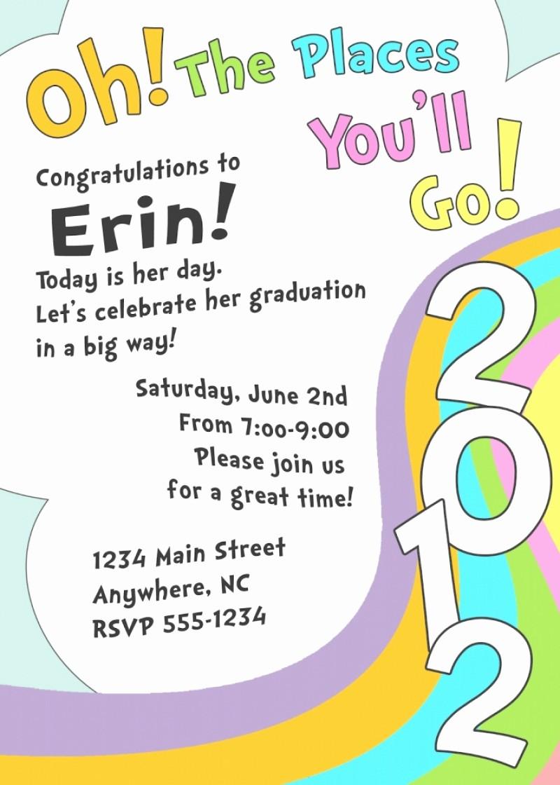 Pre K Graduation Invitations Templates Fresh Free Kindergarten Graduation Invitation Template