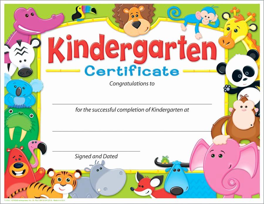 Preschool Diplomas Templates Printable Free Awesome Kindergarten Graduation Certificate Templates D Templates