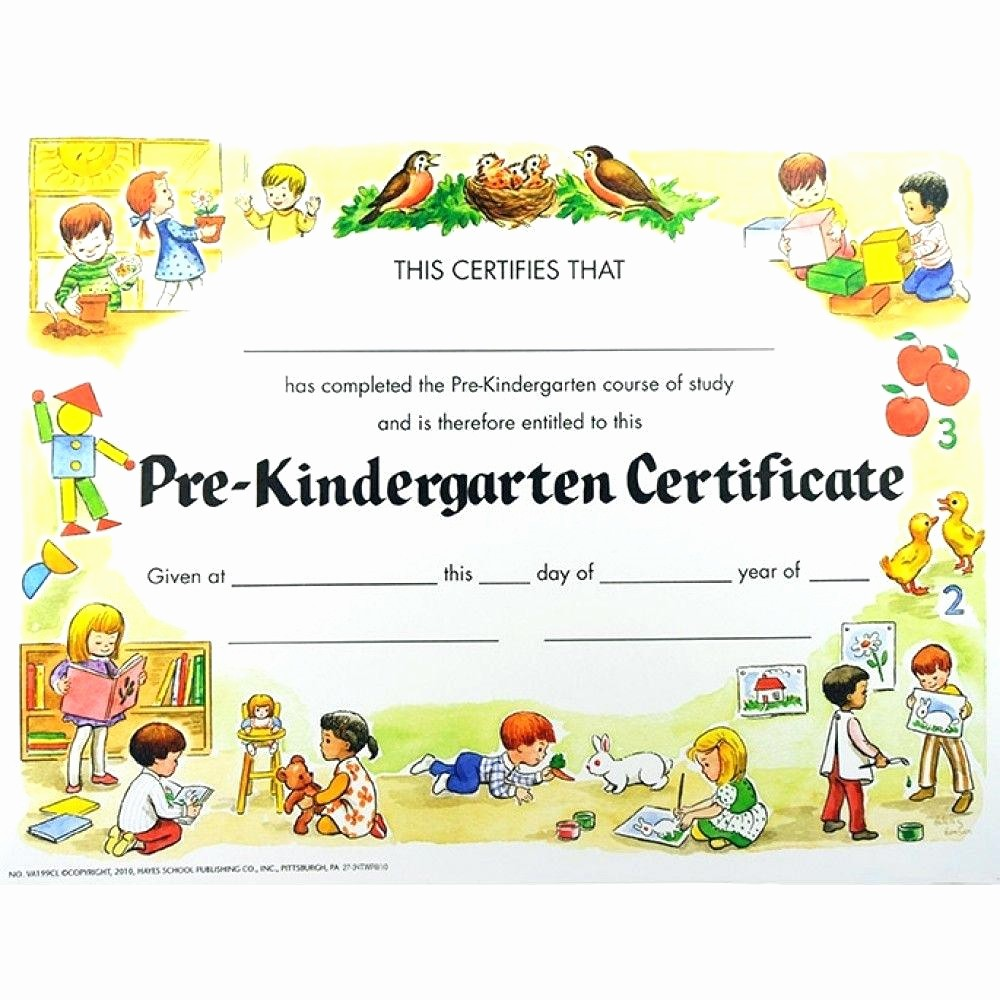 Preschool Diplomas Templates Printable Free Beautiful Template Kindergarten Diploma Template K Certificate Co