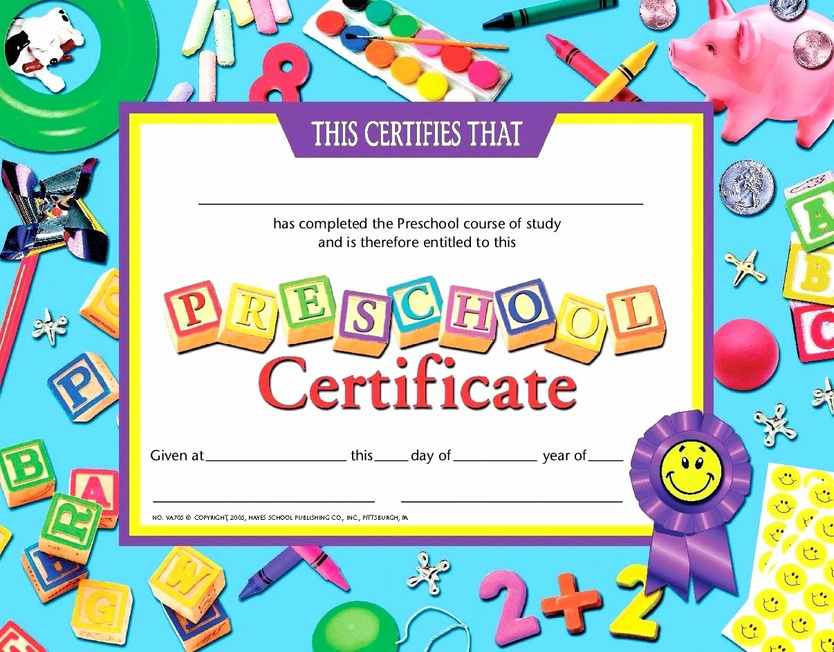 Preschool Diplomas Templates Printable Free Inspirational Template Math Certificate Template Preschool Graduation