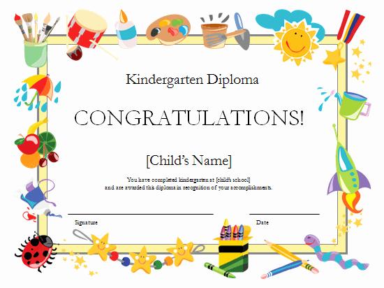 Preschool Diplomas Templates Printable Free Lovely Preschool Certificates On Pinterest