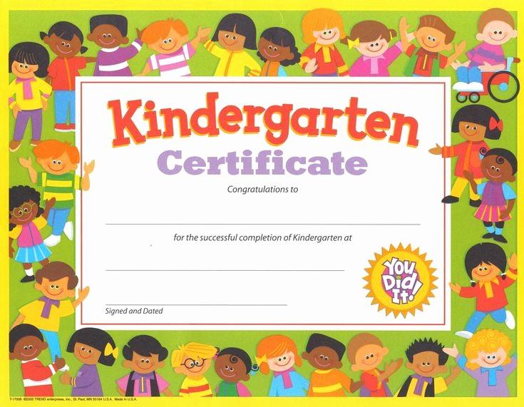 Preschool Graduation Certificate Free Printable Beautiful Free Printable Kindergarten Graduation Certificate