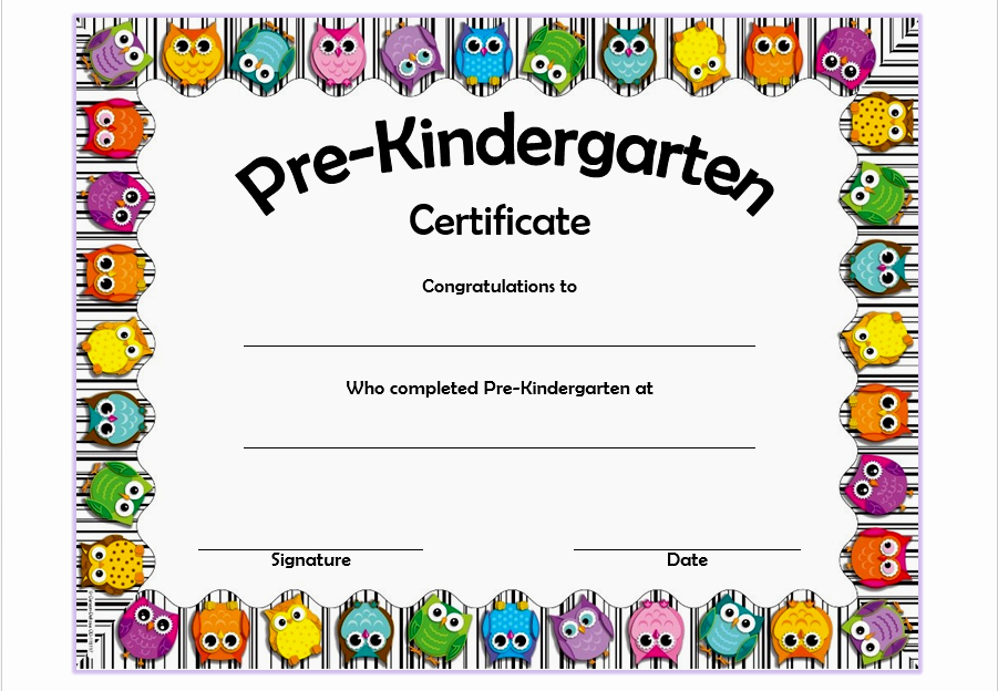Preschool Graduation Certificate Free Printable Best Of Pre K Diploma Template Professional and High Quality