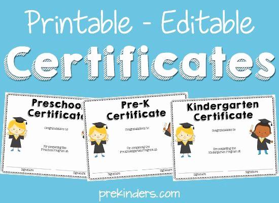 Preschool Graduation Certificate Free Printable Elegant 77 Best Slp Certificate Freebies Images On Pinterest