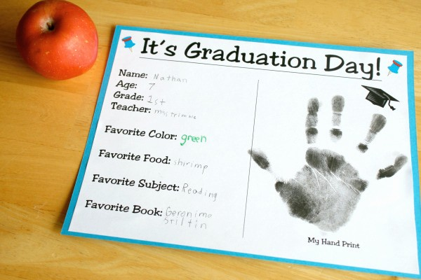 Preschool Graduation Certificate Free Printable New Two Ways to Celebrate Graduation Day