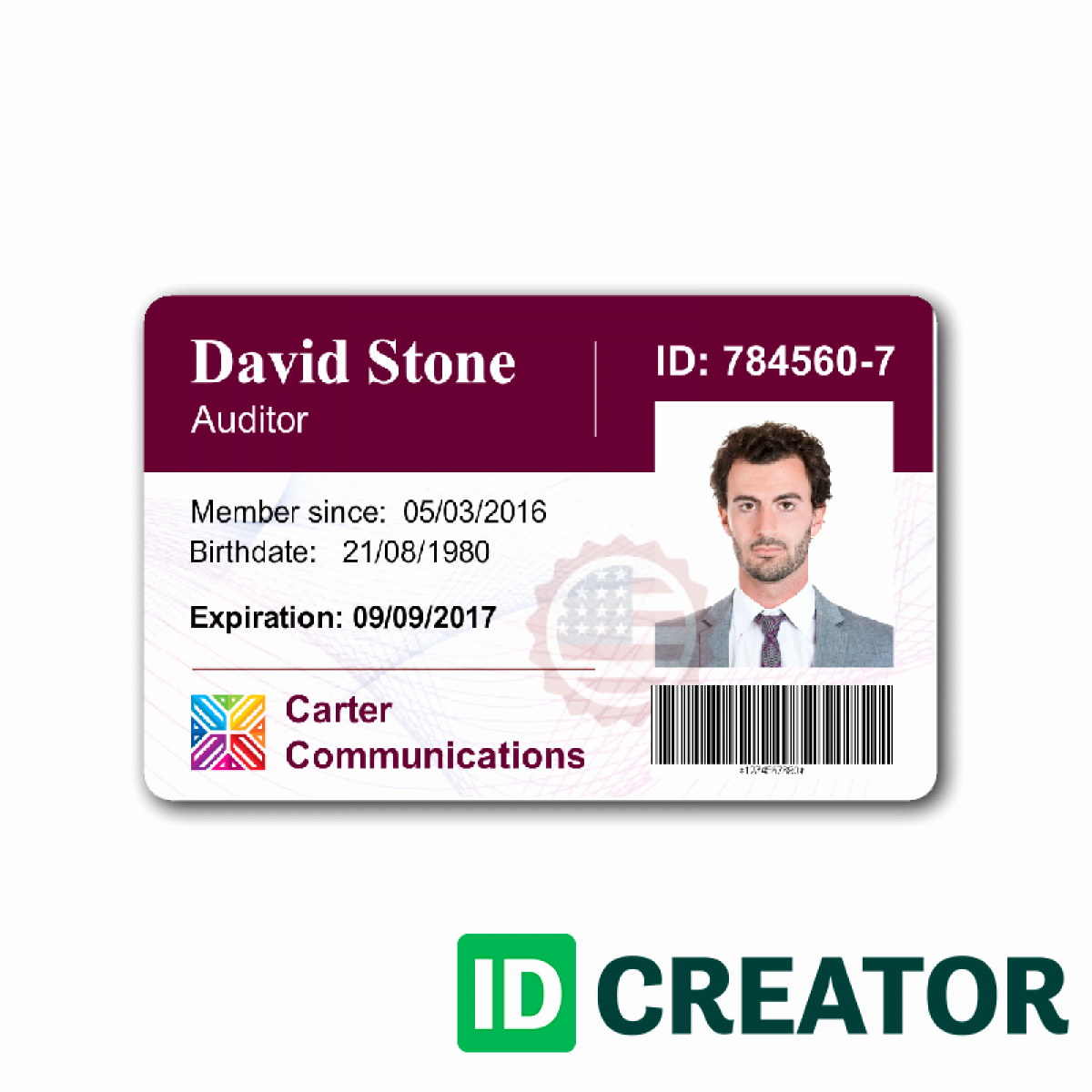 Press Pass Template Microsoft Word Elegant Pany Id Card Template Word Templates Data