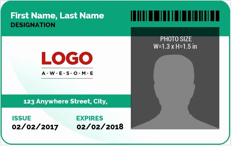 Press Pass Template Microsoft Word Lovely Ms Word Id Badge Sample Template