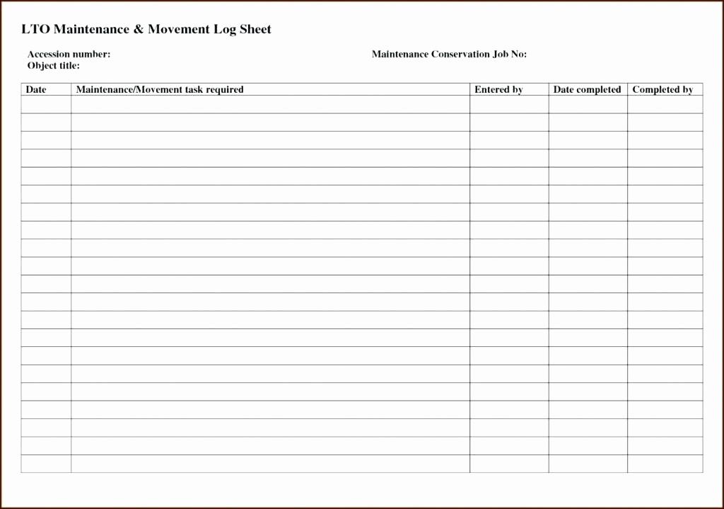 Preventive Maintenance Schedule Template Excel Best Of Preventive Maintenance Schedule Template Download Free